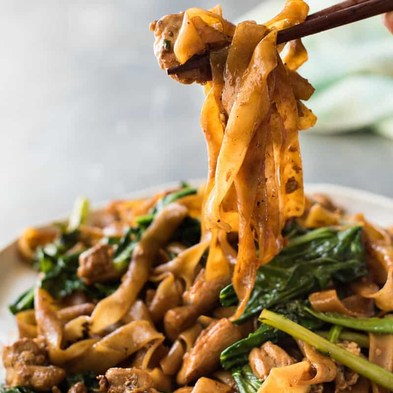 Pad See Ew (Thai Stir Fried Noodles)